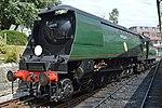 "Southern Railway Battle of Britain Class 4-6-2 '34070' ""Manston"" (28736651891).jpg"