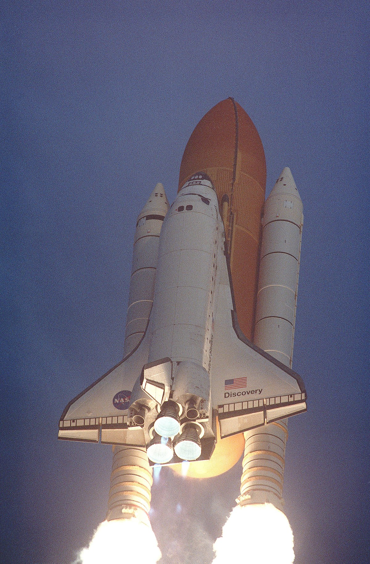where did the space shuttle discovery go - photo #16