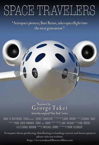 Carlo Burton - documentary of aerospace engineer Burt Rutan narrated by George Takei (Star Trek)