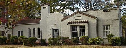 Spanish Colonial Revival Style Residence