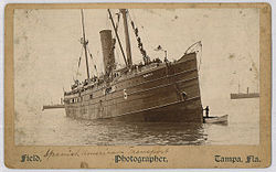 Spanish American War transport Seneca