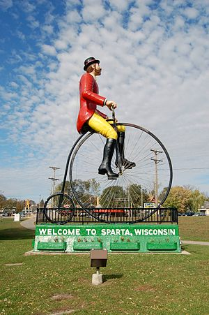 Sparta, Wisconsin - Image: Sparta Big Bike