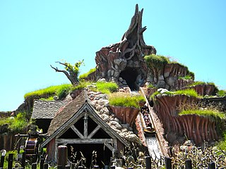 Splash Mountain Ride at Disney theme parks