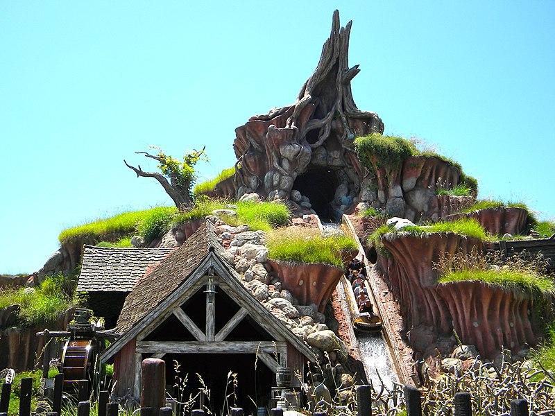 Montanha russa da Disney