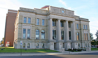 Springfield, Ohio - Image: Springfield ohio courthouse