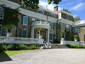 Home of Franklin D. Roosevelt National Historic Site - Springwood Estate at Franklin D. Roosevelt National Historic Site.