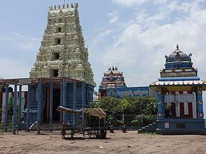 Peddintlamma Temple, Kolletikota - Image: Sri Peddintlamma Temple Kolletikota