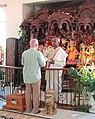 Sri Sri Radha Krishna Temple red dot (32595071738).jpg