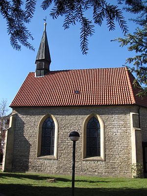 Wesseln (Bad Salzdetfurth) - Image: St. Johannes Kirche (Wesseln)