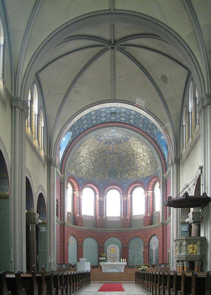 Apsis Kirche