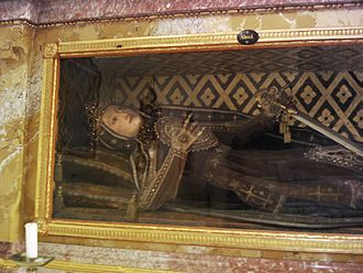 Catacomb saints - Image: St.Verena Almachus 2