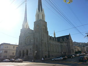 Sister Act - St. Paul's Catholic Church in San Francisco, used as filming location