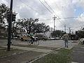 St Charles Ave Louisiana Uptown NOLA Jan 2012 Bicycle SelfPhone.JPG