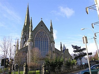 St Eugene's Cathedral - Image: St Eugene's Cathedral, Derry Londonderry geograph.org.uk 1159174