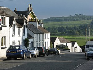 St John's Town of Dalry - Looking south from St John's Town of Dalry