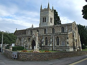 Eynesbury, Cambridgeshire - Image: St Mary's Church, Eynesbury geograph,org.uk 3135017