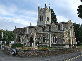 Eynesbury, Cambridgeshire Human settlement in England
