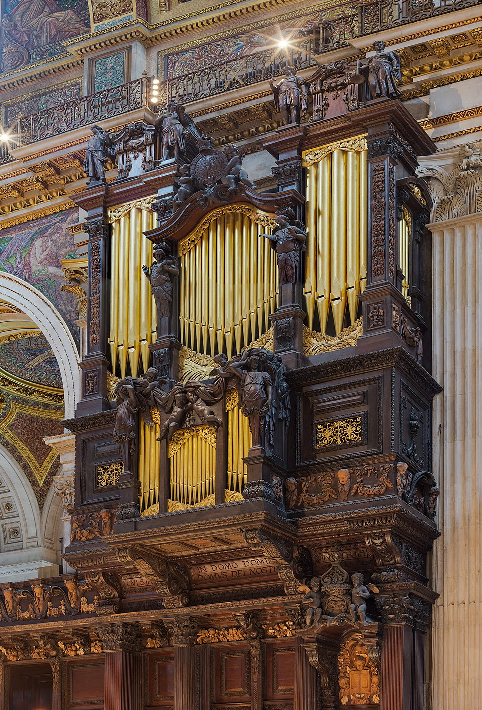 St Paul's Cathedral South Organ, London, UK - Diliff