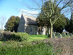 St Peter's Church, Old Hurst-geograph.org.uk-3861346.jpg
