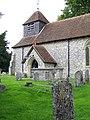 St Peter's Church, Shipton Bellinger - geograph.org.uk - 898953.jpg