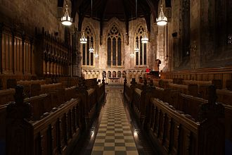 St Salvator's Chapel - St. Salvator's Chapel interior