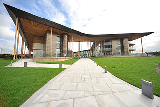 St George's Park National Football Centre - Image: St george's park July 2012 Courtyard