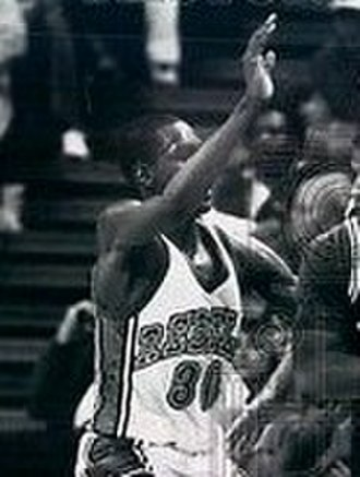 UNLV Runnin' Rebels basketball - Stacey Augmon along with core players help lead the Rebels to back–to–back Final Four appearances in 1990 and 1991