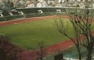FC Universitatea Cluj - old Ion Moina Stadium (1911–2008), the former home ground of U Cluj
