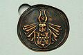 Stadtplakette Hannover Wappen der Stadt Dreiblättriges Kleeblatt Eigenturm von Ulrike Enders.jpg