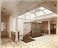 Staircase and elevator, Lusitania (6054228948).jpg