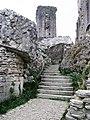 Stairway in Corfe Castle.jpg