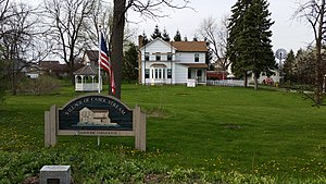 Carol Stream, Illinois - Stark Farm Historic Farmhouse in Carol Stream