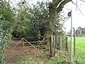 Start of Hunt's Lane restrictive byway - geograph.org.uk - 1773574.jpg
