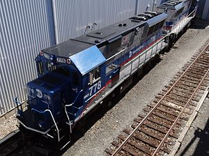 Brookville BL20GH - SIR BL20G Locomotive 778