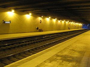 Simonis metro station - Simonis Railway station