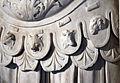 Statua loricata frammentaria, dal foro di traiano, 112 dc ca. 03 teste di animali.JPG