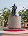 Statue of Simon Bolivar in Plaza Bolivar of Altagracia ports.jpg