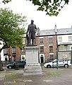 Statue of Sir Hugh Owen , A Pioneer of Welsh Education - geograph.org.uk - 266700.jpg