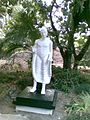 Statue of mahatma Budh at Dr. Balbir Singh Memorial Dehradun.jpg