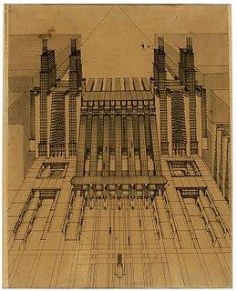 Futurist architecture Architectural style