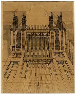 Futurist architecture - Image: Stazione Sant'Elia