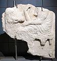 Stele funeraria attica, 420-380 ac., da horti lamiani.JPG