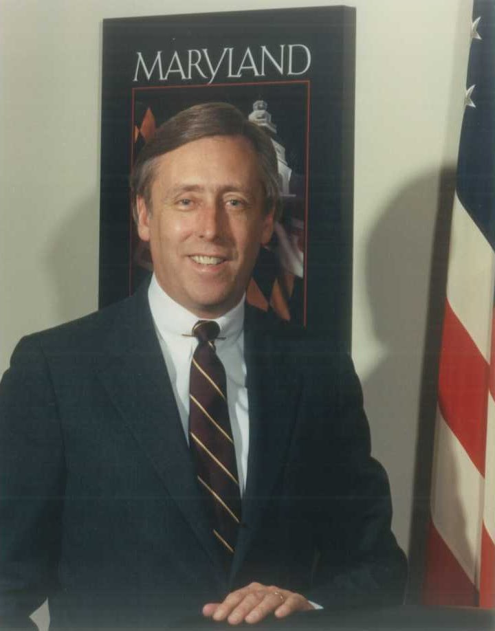 Steny Hoyer, official photo portrait, circa 1980s