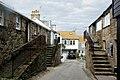 Stepped doorways in Porthmeor Road, St Ives - geograph.org.uk - 1549521.jpg