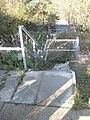 Steps down to the A3(M) near Dunsbury Hill Farm - geograph.org.uk - 1572245.jpg