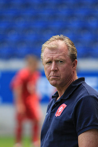 FC Twente - Steve McClaren, the first manager to win the title for FC Twente.