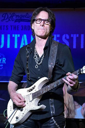 Steve Vai - Vai performing with Led Zeppelin tribute band Zepparella, May 2017