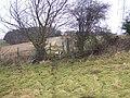 Stile on footpath near Gore House - geograph.org.uk - 1121928.jpg