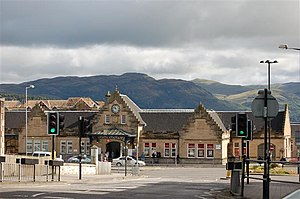 Stirling railway station, Scotland - Image: Stirling Railway Station geograph.org.uk 525924