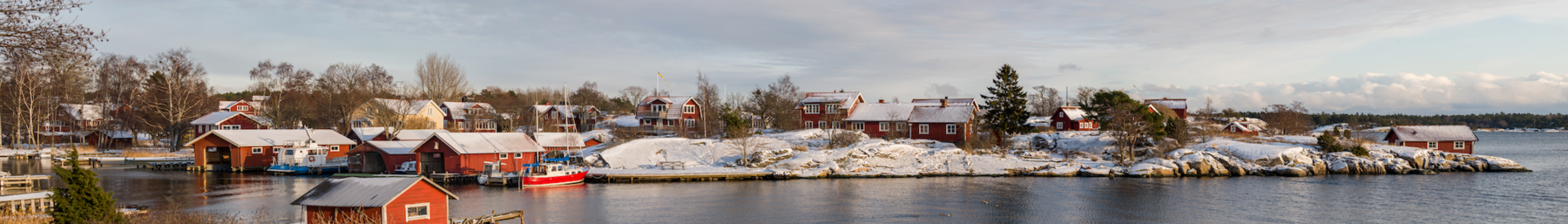 Berg, a village at Möja island